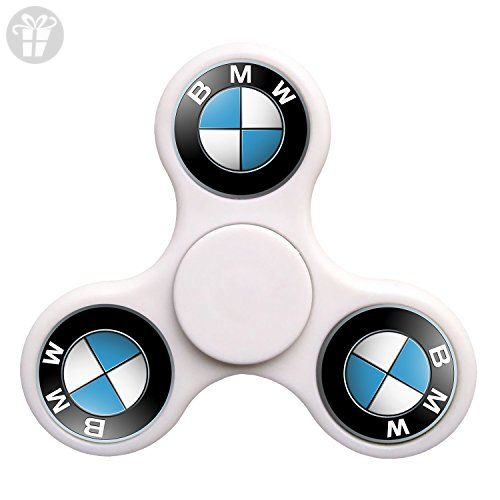 bmw car logo tri spinner fidget toy plastic edc hand. Black Bedroom Furniture Sets. Home Design Ideas