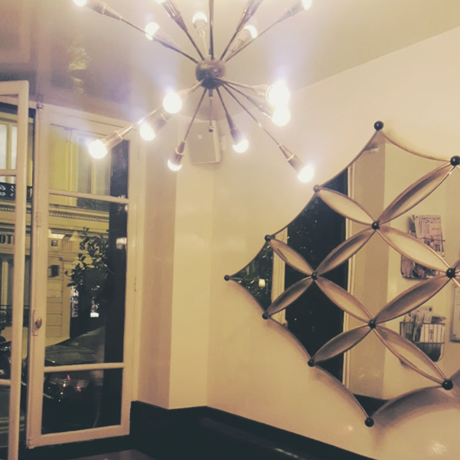 Hotel D'Amour Paris | Best mirror ever!
