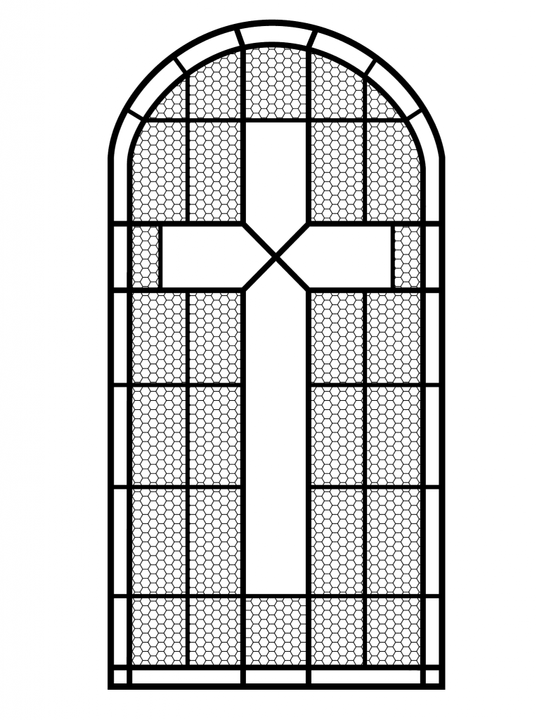 Image result for Printable Stained Glass Cross Patterns