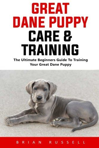Great Dane Puppy Care Training The Ultimate Beginners Guide To