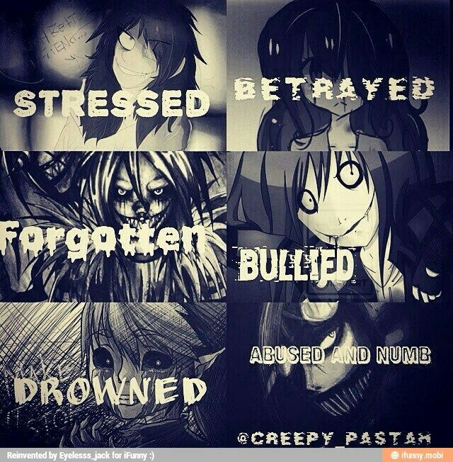 Stressed, betrayed, forgotten, bullied, drowned, abused, and