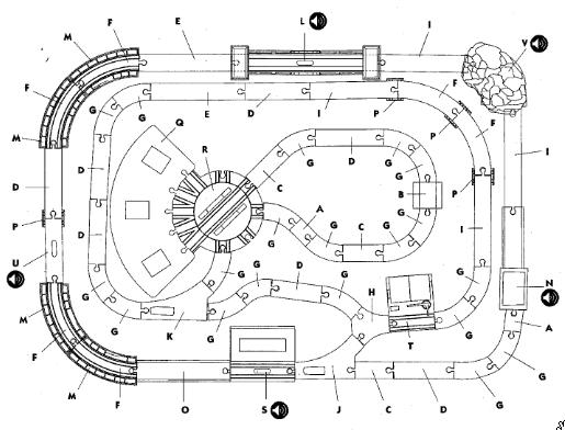 imaginarium train track layout instructions