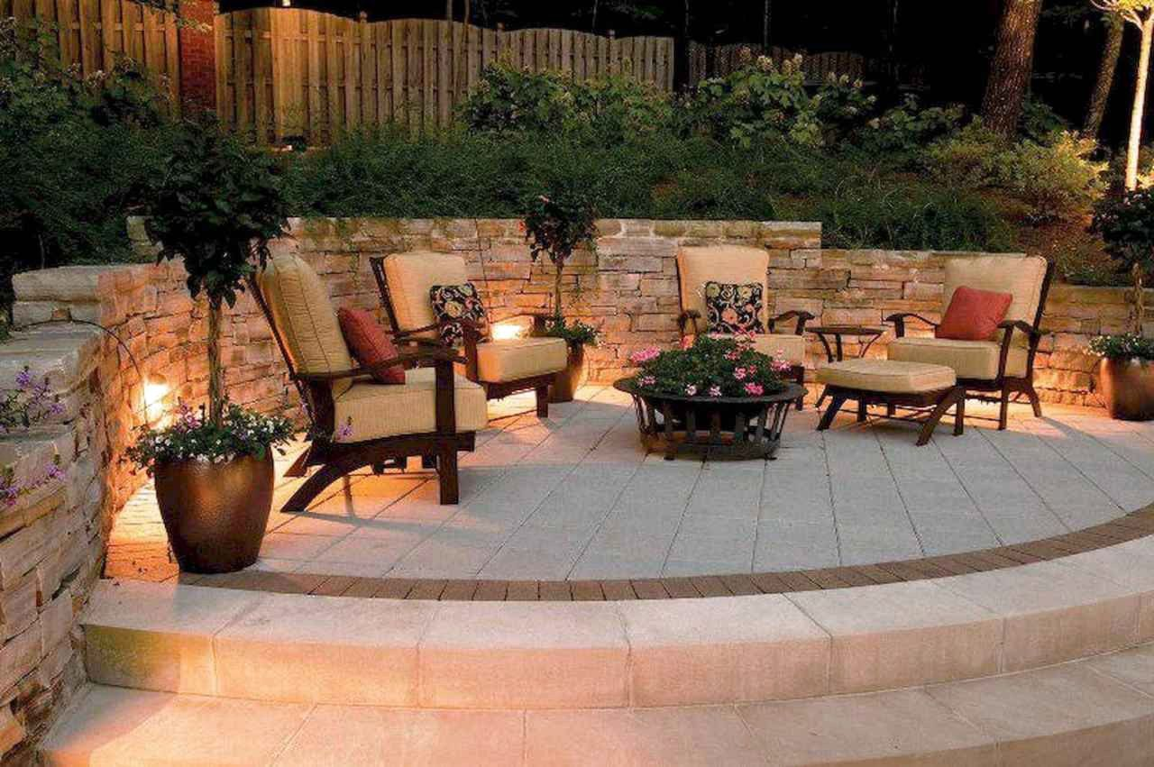 52 Excited Backyard Lighting Decor Ideas And Remodel About Expert Design Outdoor Patio Lights Backyard Patio Patio Stones