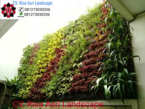 Jasa Pembuatan Taman Vertikal Vertical Garden Jakarta Gambar Taman Vertikal Green Wall Garden Gambar Taman Dan Vertical Garden Desain Lanskap Lanskap Tanaman