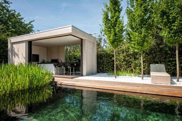 Exterieur i veranda 39 s bijgebouwen leem wonen relax pinterest tuin and verandas - Exterieur design tuin ...