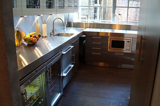 Complete Hybrid Stainless Steel Kitchen