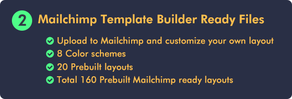 Ecommerce Email Builder Fortuna Mailchimp Editor Ready Email Marketing Template Invoice Template Email Newsletter Template