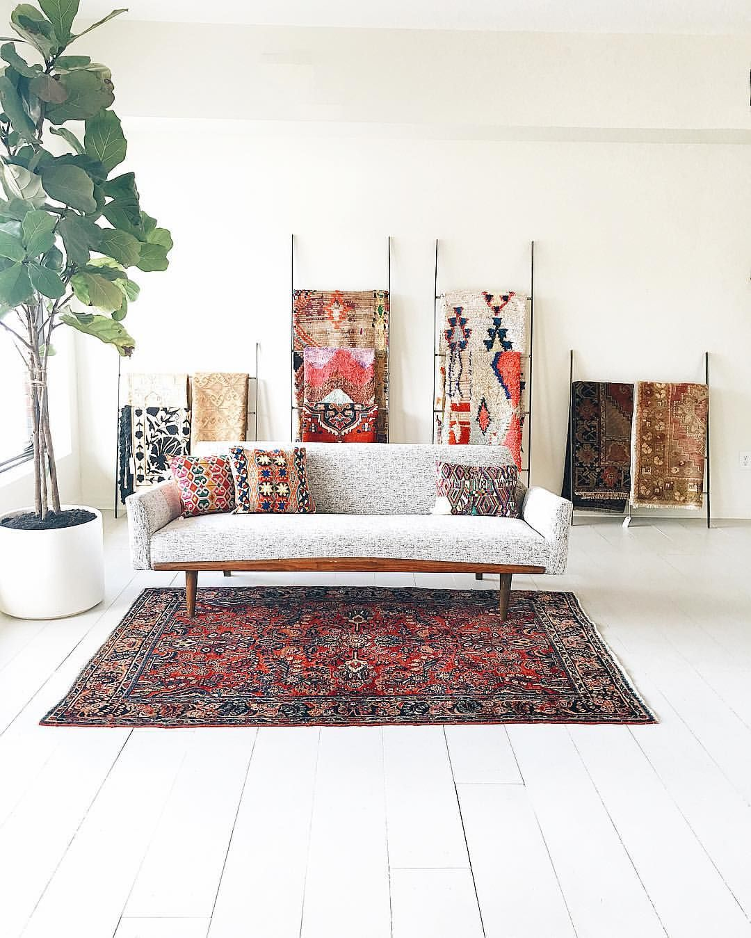 Green Body + Green Home on Instagram: Retail Space Vintage Rugs ...