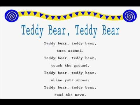 Teddy Bear Teddy Bear A Great Jump Rope Song Kids Can Learn More Jump Rope Songs At Www Loving2read Com Jump Rope Songs Rhymes For Kids Classroom Songs