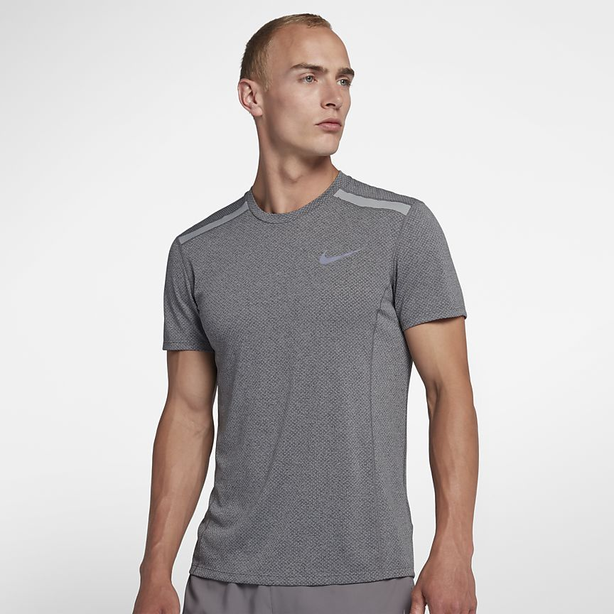 5095feb137 Nike Dri-FIT Miler Cool Men s Short-Sleeve Running Top