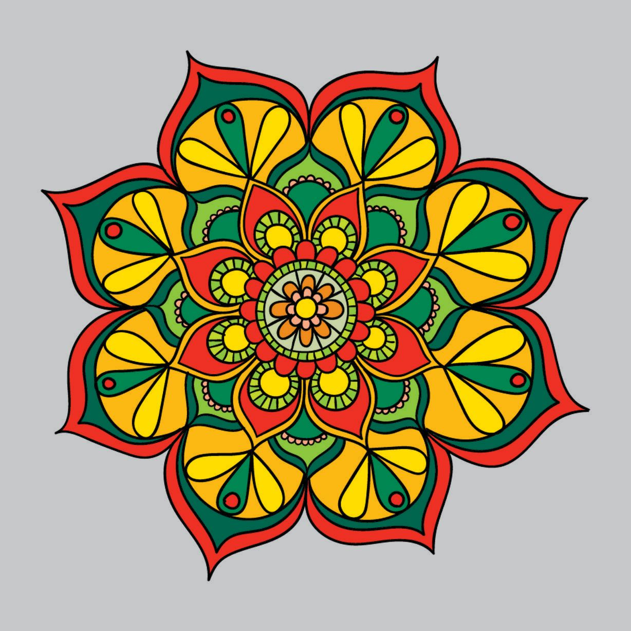 Magnificent Hard Flower Coloring Pages Frieze - Coloring Page ...