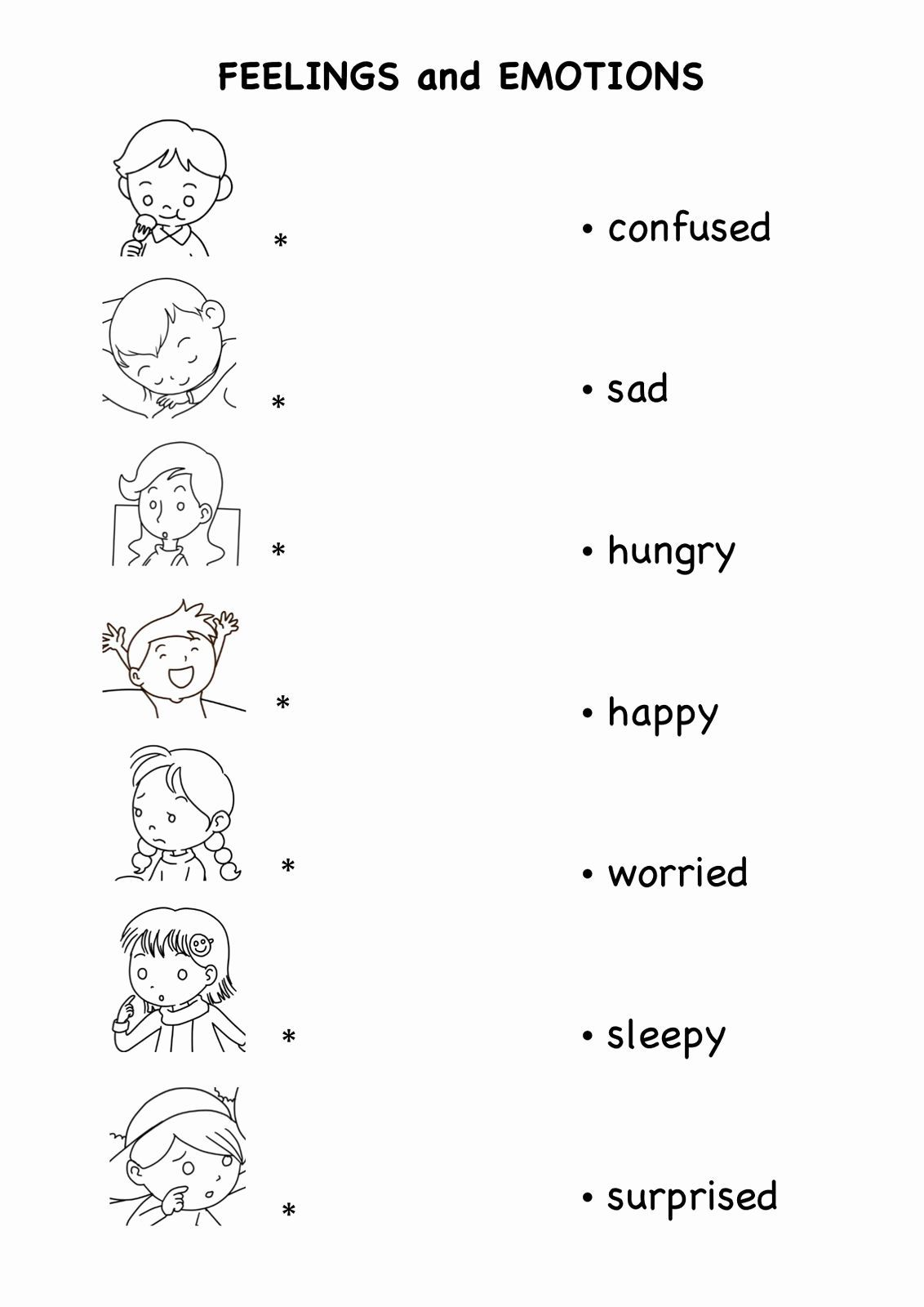 A Collection Of English Esl Worksheets For Home Learning