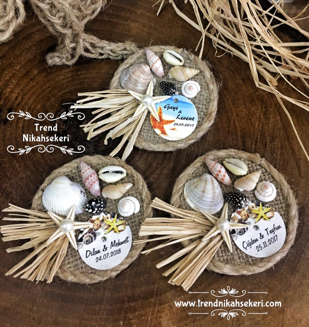 Deniz konsept magnet #magnets #nikahsekeri #nikah #hediyelik
