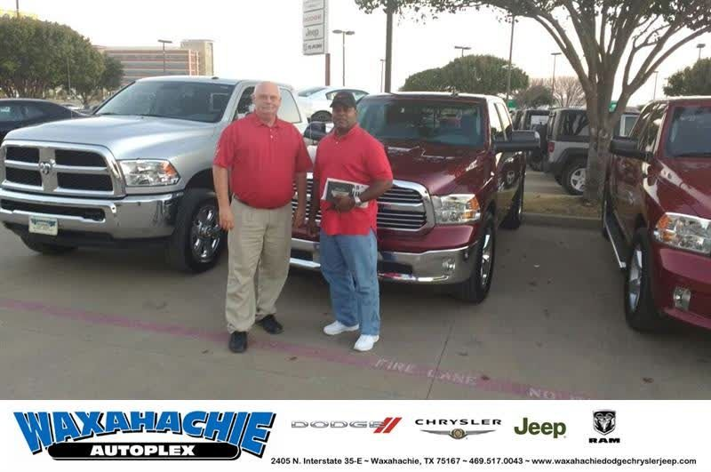 HappyBirthday to Anthony from Billy Minter at Waxahachie Dodge ...