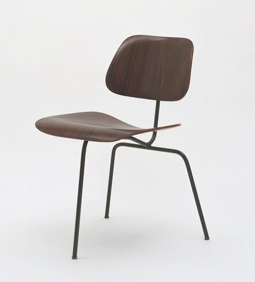 Three Legged Shell Chair Designed In 1963 Made From Bent Plywood