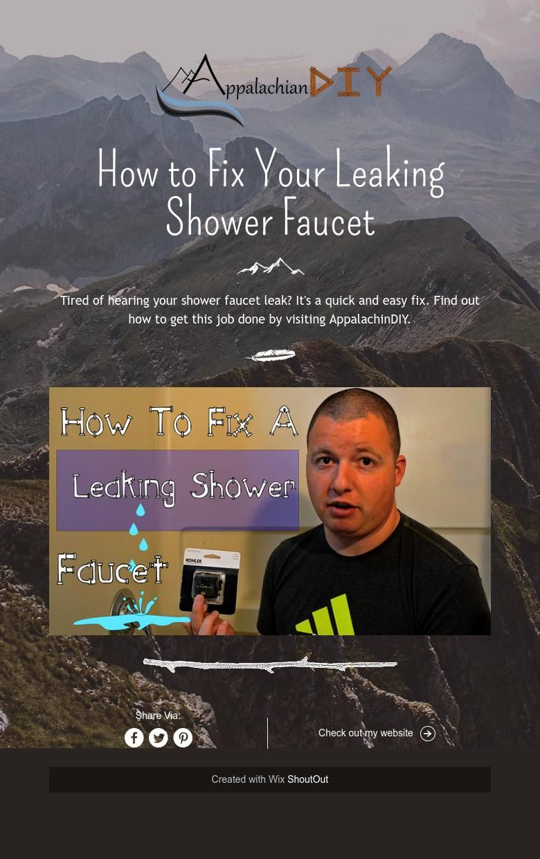 How to Fix Your Leaking Shower Faucet Shower faucet, Fix