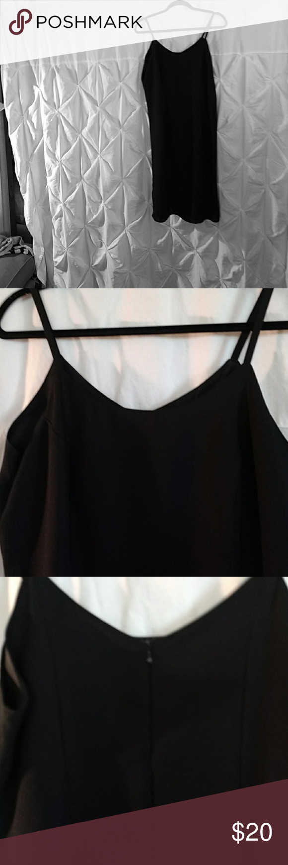 Mlle gabrielle a classic black dress made out of per cent