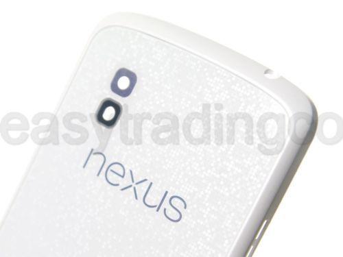 White Original  LG Nexus 4 E960 Rear Back Glass Cover Replacement Panel /w NFC  https://t.co/8kgNWJdyCo https://t.co/WNtyMwD6x9