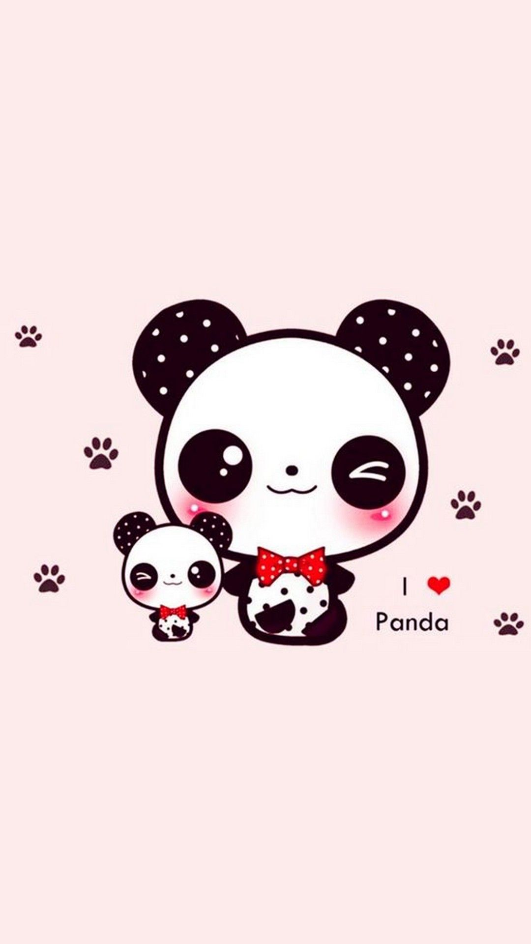 Cute Panda Wallpaper For Iphone Iphonewallpapers Cute Panda