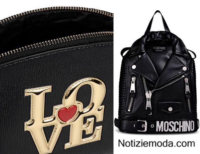 8e4eed2489 Borse Moschino autunno inverno 2015 2016 moda donna   Borse Moda ...