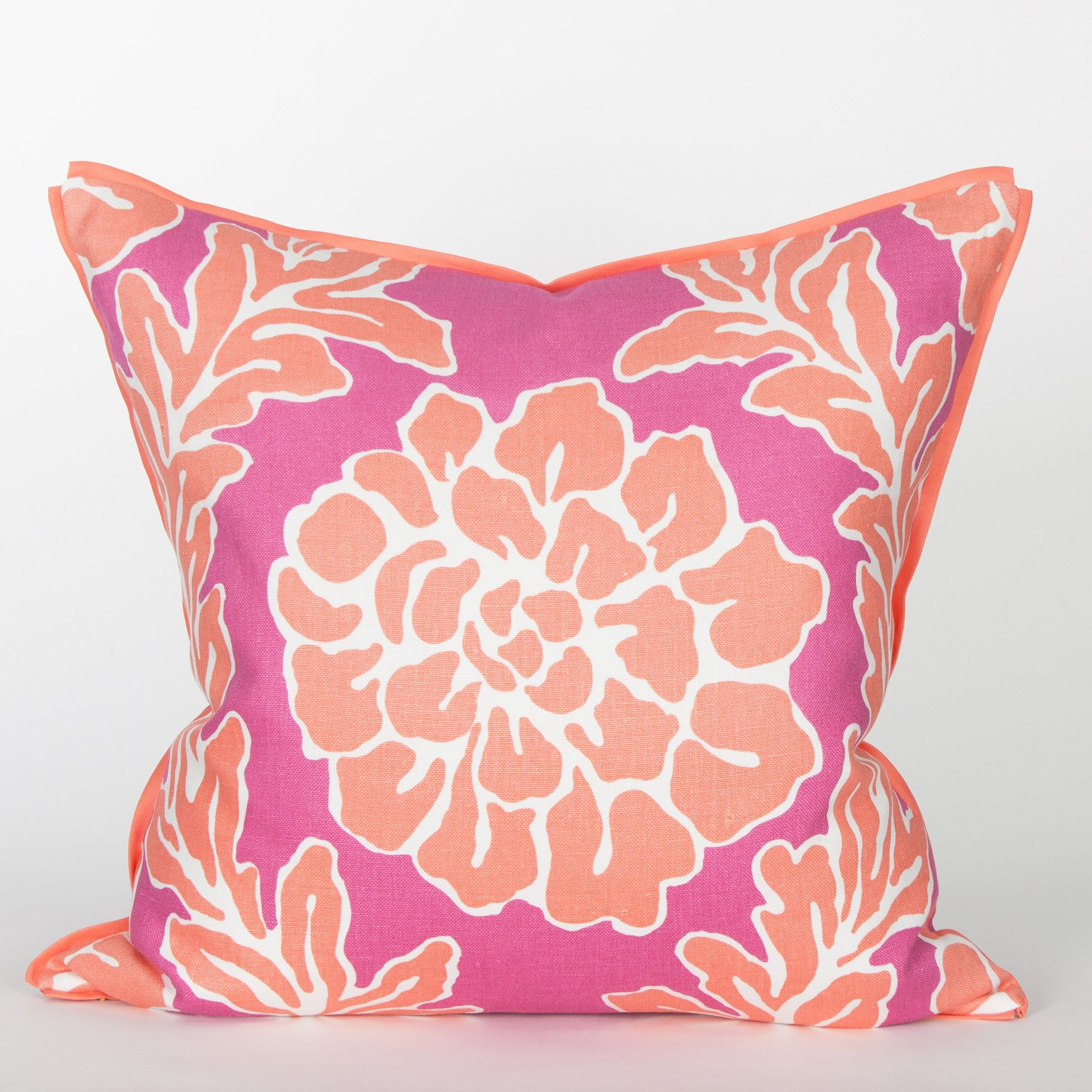 Palm Beach Collection Clematis Pillow / Cerise | Ideas for the House ...