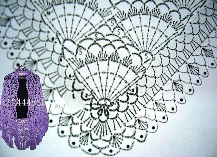 4880065_72933312_CHALPI_AGRAFICO (699x505, 147Kb) | chal crochet ...