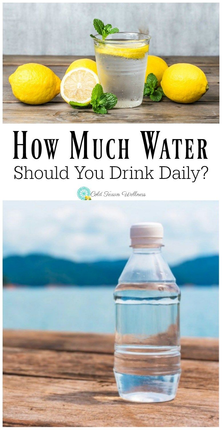 How much water should you drink every day health