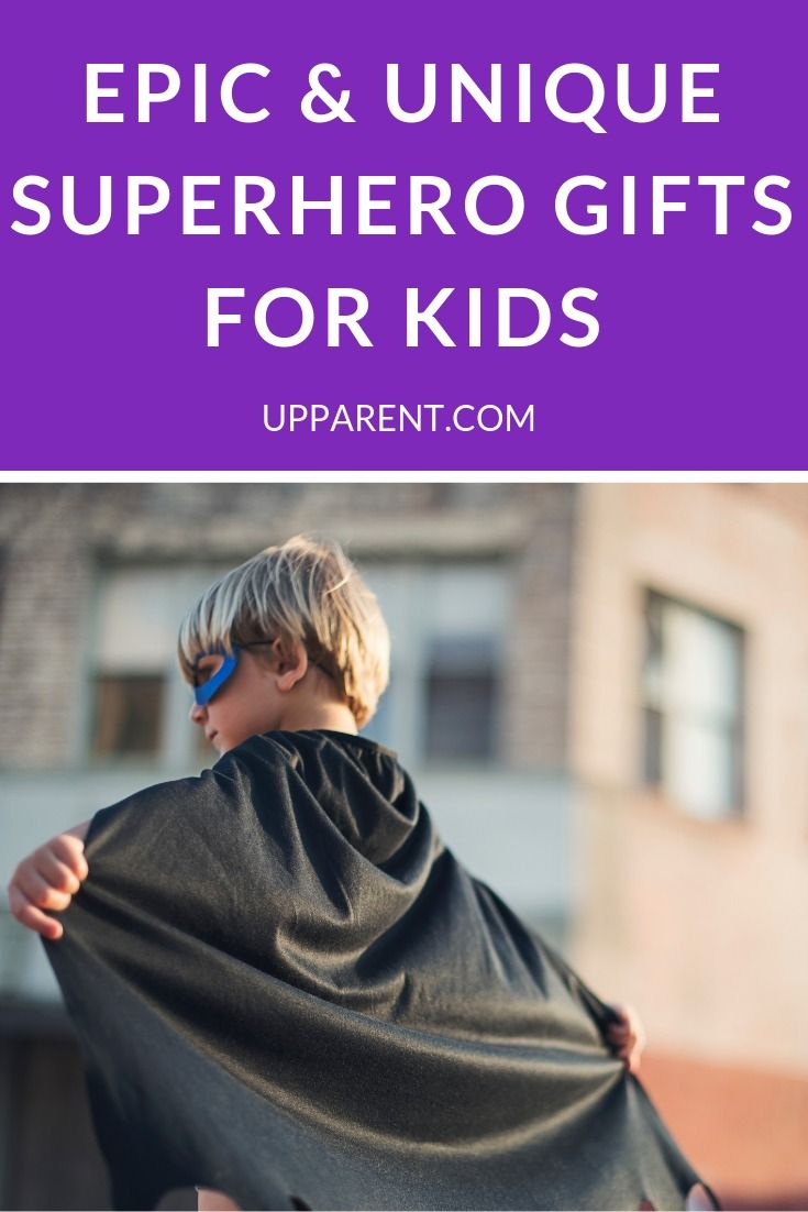 Superhero Gifts for Kids #superherogifts