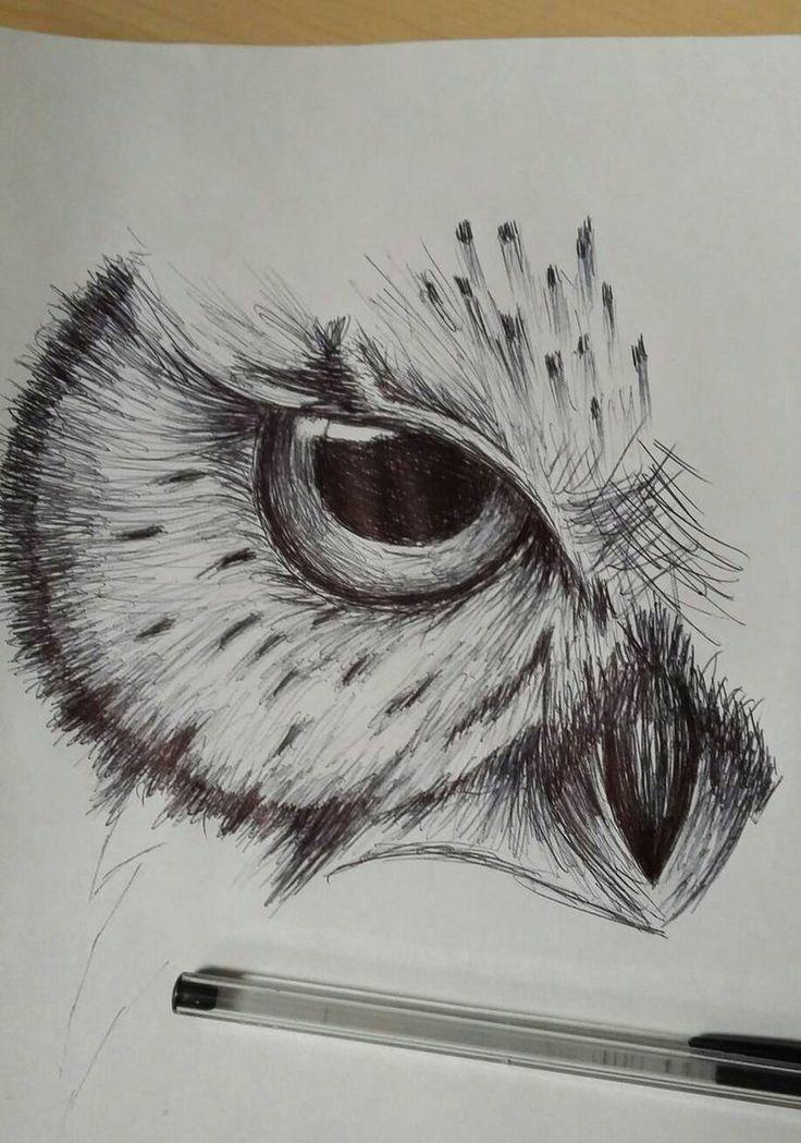 Draw Pattern - owl sketch by cdkingof1982 on DeviantArt... - CoDesign Magazine | Daily-updated Magazine celebrating creative talent from around the world