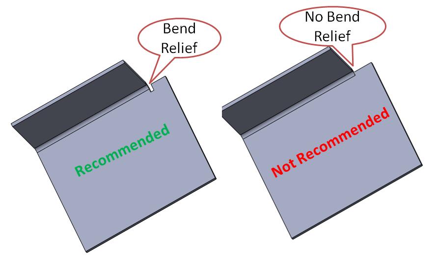 Bend Relief In Sheet Metal In 2020 Design Guidelines Metal Design Sheet Metal Work