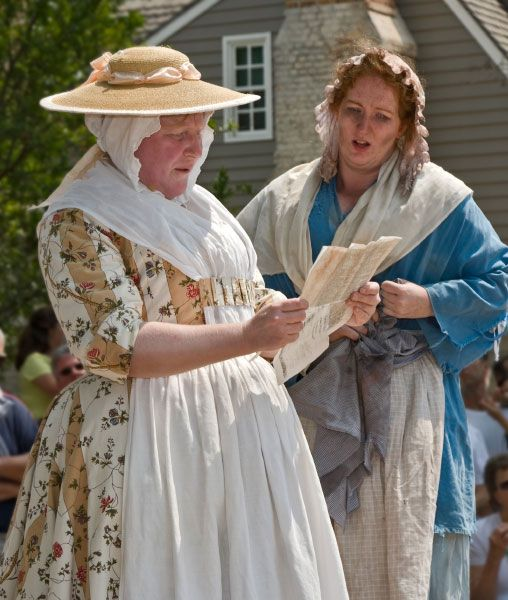 1800 S Colonial Scene On Demand: The Role Of Women In The 18th Century