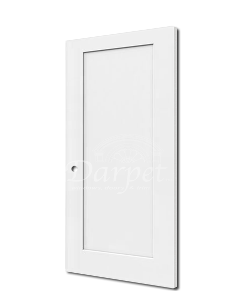 1 Panel Shaker Interior 6 8 Door In 2020 Doors Interior Panel Doors Primed Doors