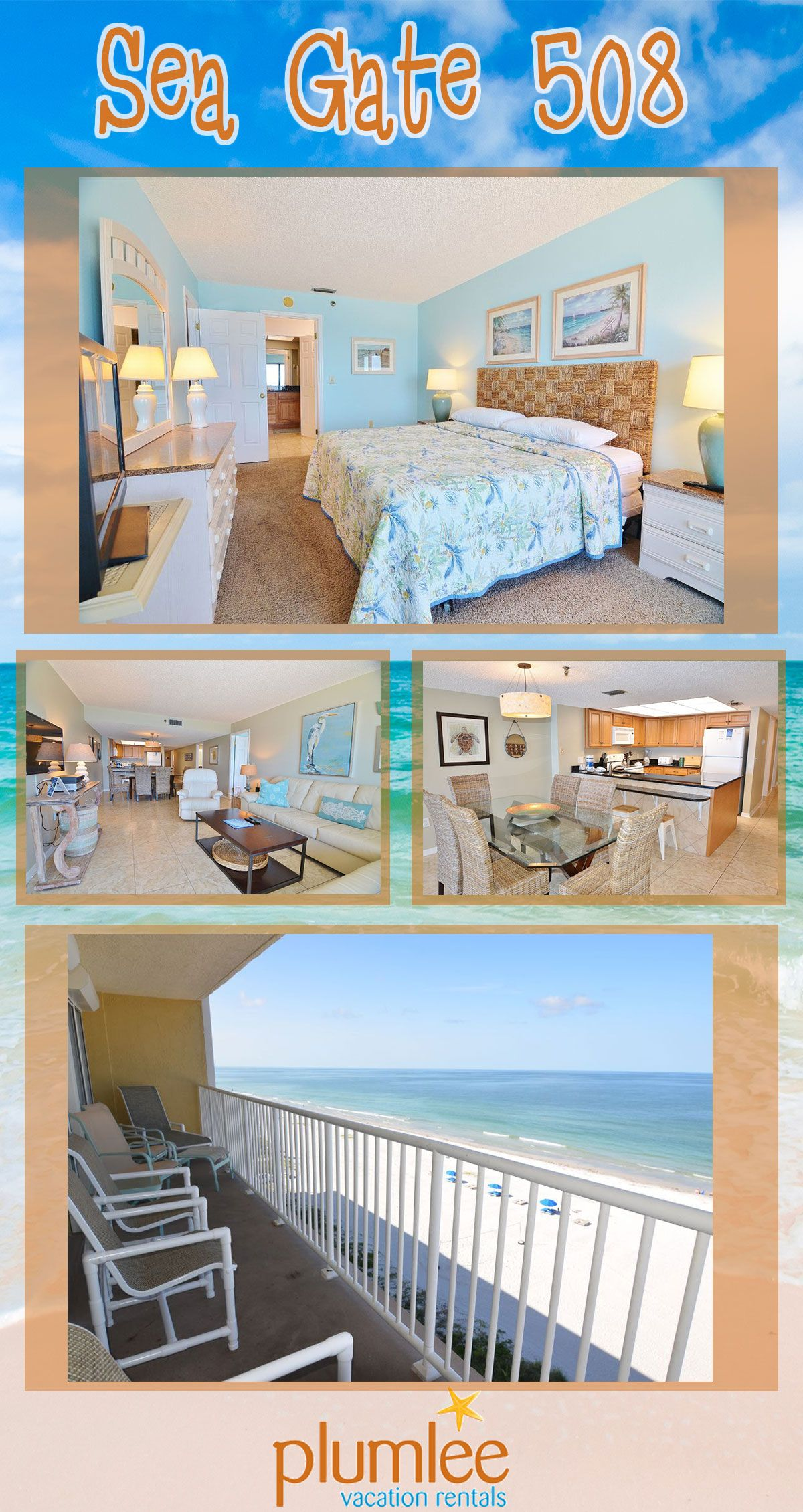 This Spacious 3 Bedroom Condo Has Room For 8, And Is
