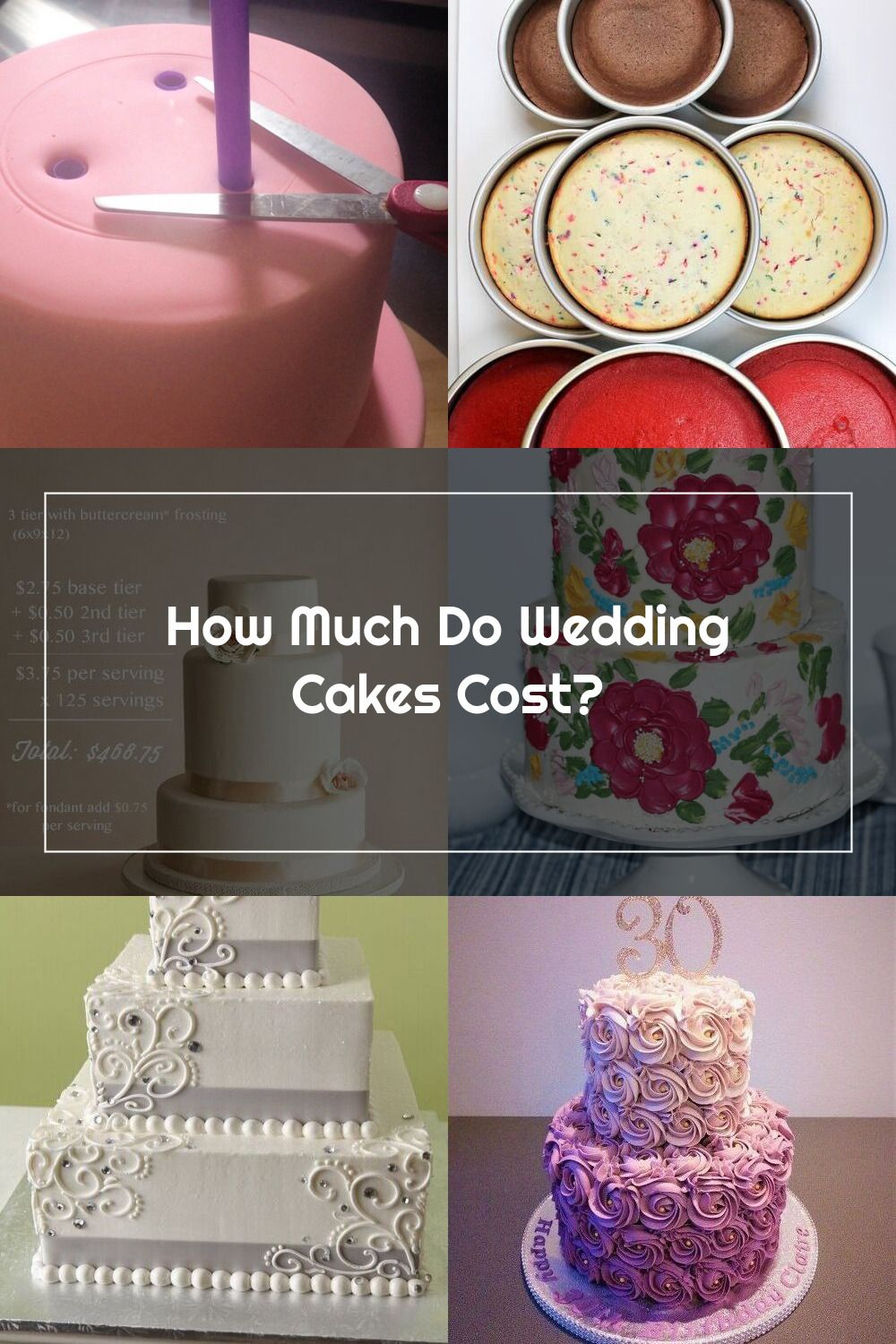 A look at how much wedding cakes cost and more on in 2020