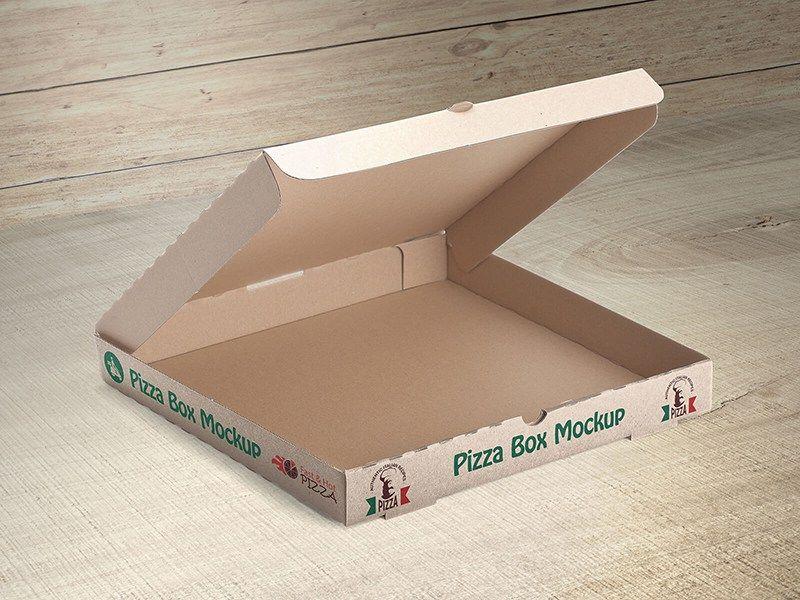 Download Free Customizable Pizza Box Mockups By Vectogravic Design Box Mockup Free Packaging Mockup Box Packaging