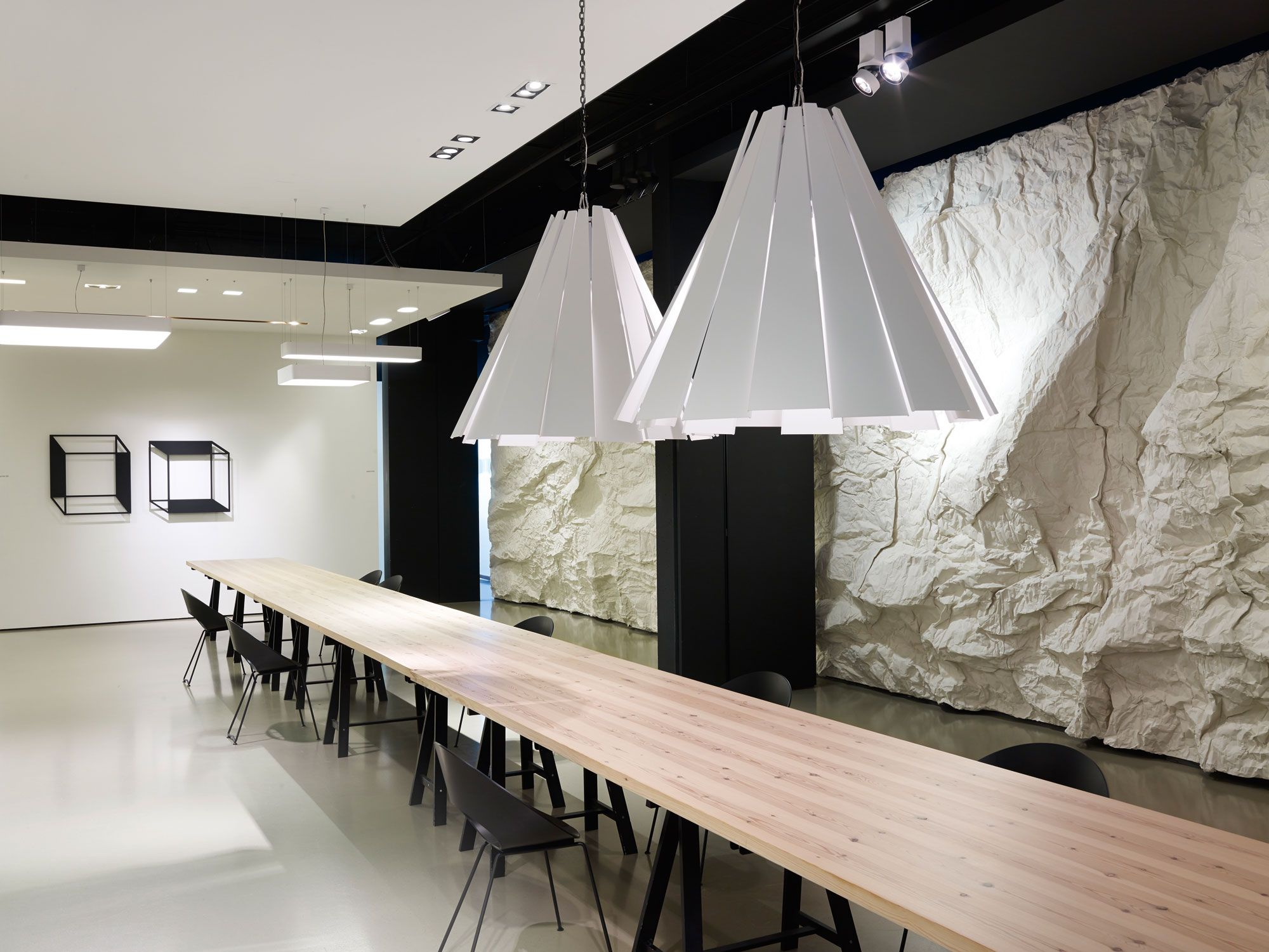 Delta Light Showroom At Headquarter In Wevelgem Belgium