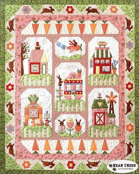 Bunny Town Complete Pattern - Preorder | Happy Quilting in ... : complete quilt kits - Adamdwight.com