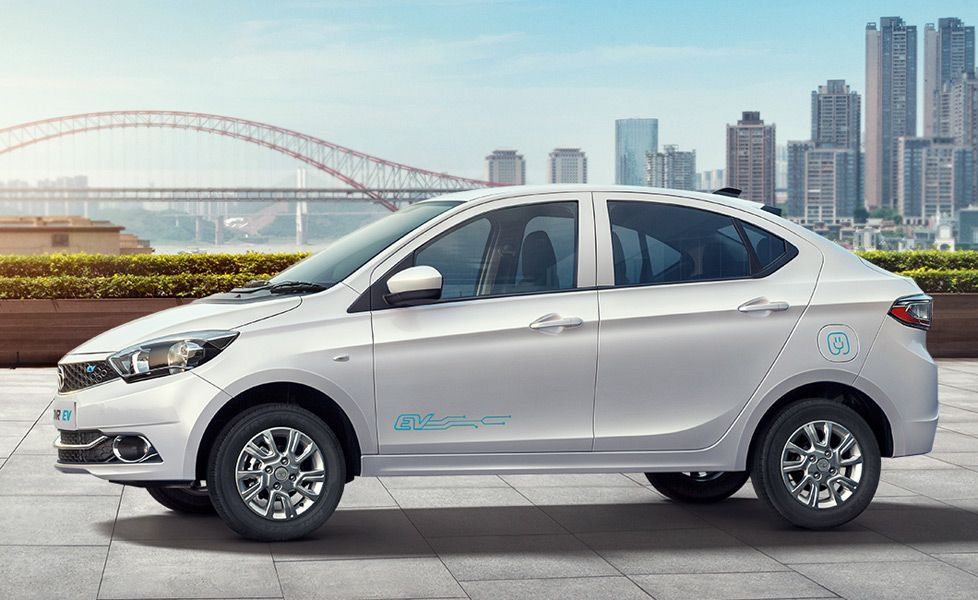 Tata Tigor Ev Car Price Starting At Inr 9 44 Lakh In India Read