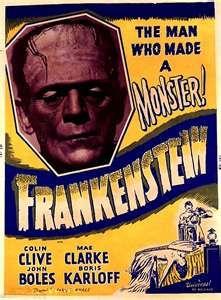 Frankenstein 1931 Vintage 1930s Movie Posters Wallpaper Image Movie Posters Vintage Frankenstein 1931 Vintage Movies