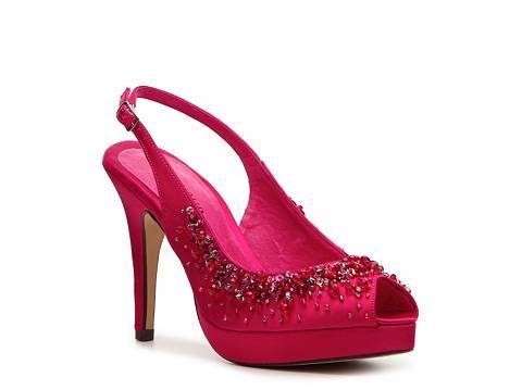 a4f2c0f431c9 Menbur Embellished Satin Pump Peep Toes Pumps  amp  Heels Women s Shoes -  DSW Satin Pumps