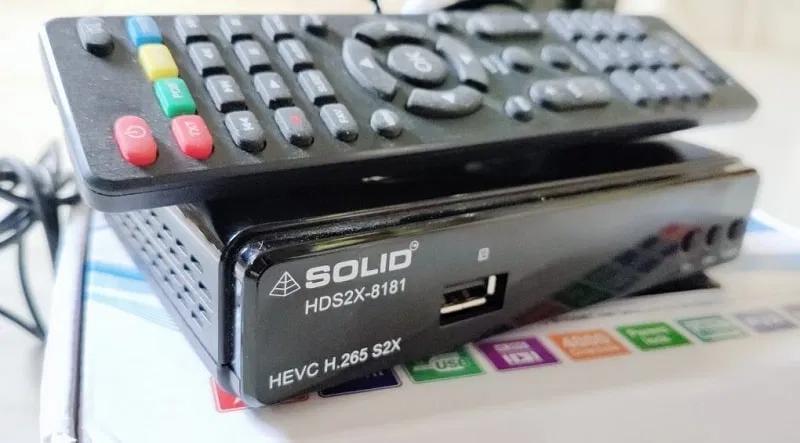 SOLID HDS2X8181 H.265 T2MI HEVC DVBS2X MPEG4 Full HD