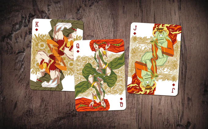 MYTHICAL / collectible playing cards / 2week campaign by