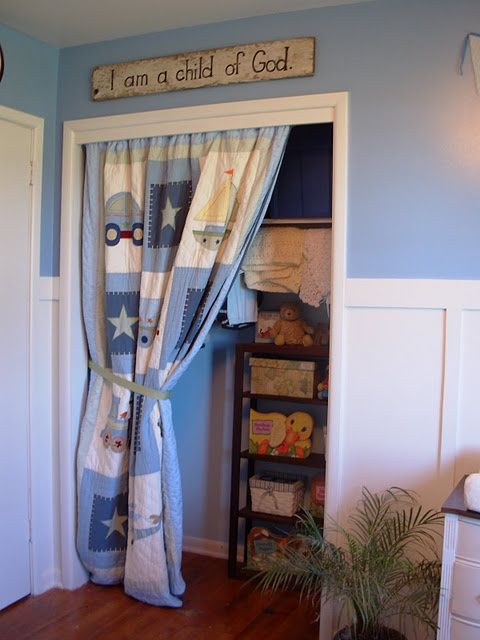 Curtain To Replace Closet Door Quilt For Ideas My New Home