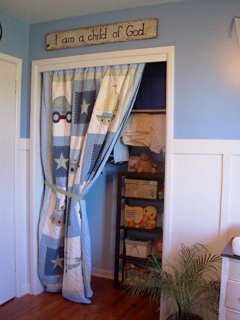 Curtain To Replace Closet Door Curtain Quilt For Closet Door