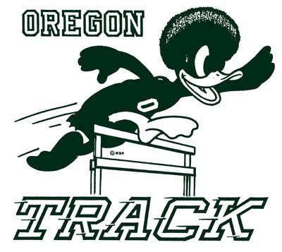 Old school Oregon track logo University Of Oregon 4578e40c516