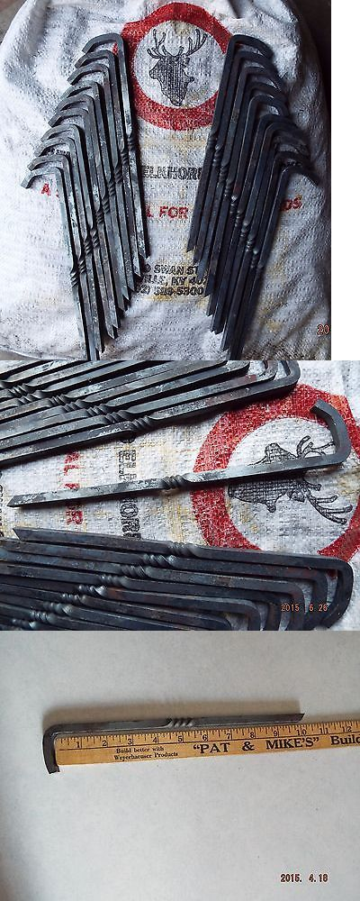 Tent and Canopy Accessories 36120 30 Civil War Mountain Man Reenactor Tent Stakes Hand & Tent and Canopy Accessories 36120: 30 Civil War Mountain Man ...