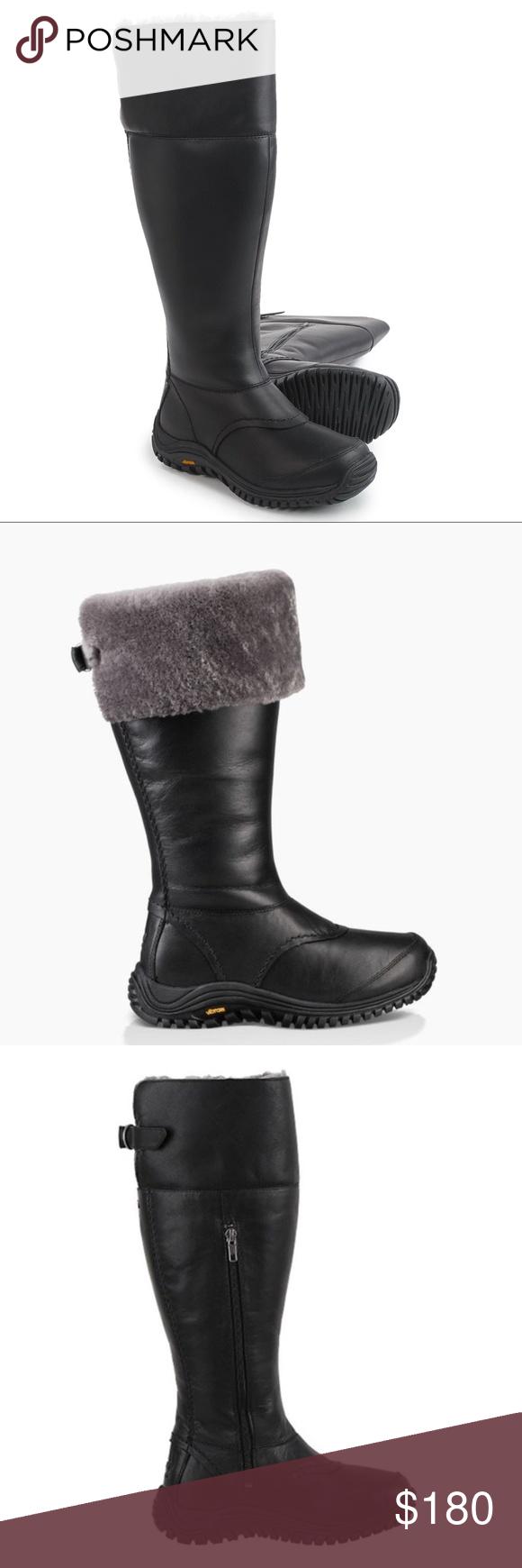 0e5176d39db 💦 NEW UGG®️ 💦 Waterproof Miko Tall Snow Boots NWT - Slip your ...