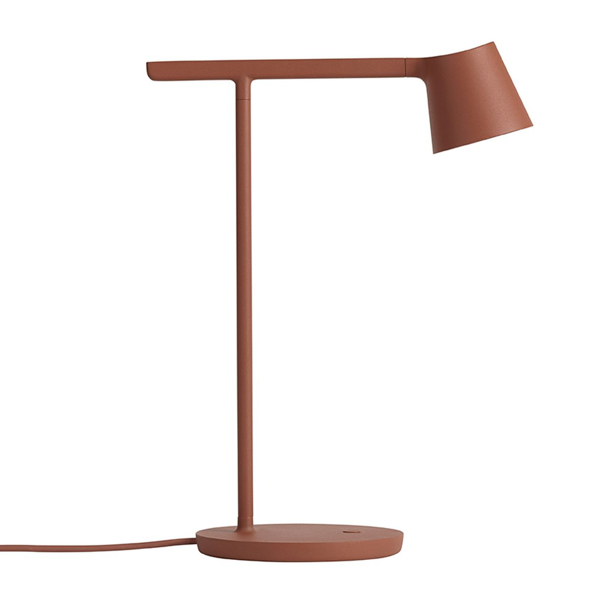 Muuto's Tip table lamp, copper brown