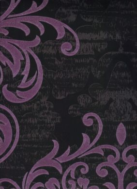 Purple Damask Wallpaper For Accent Wall