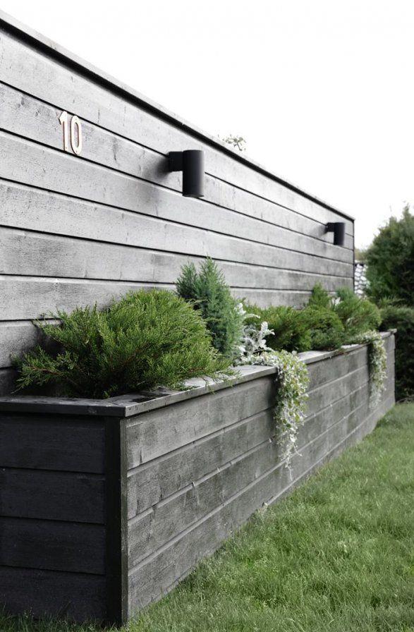 DIY Blumenkastenwand (Stylizimo Blog) Pool Garten